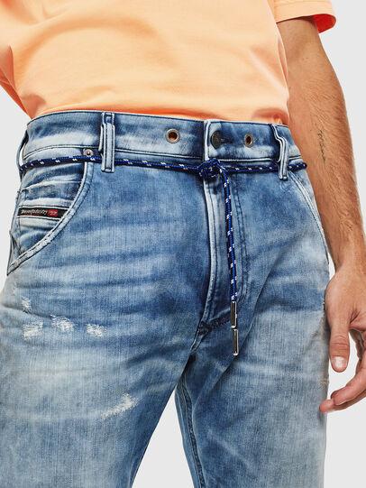 Diesel - Krooley JoggJeans 0099Q, Medium blue - Jeans - Image 5