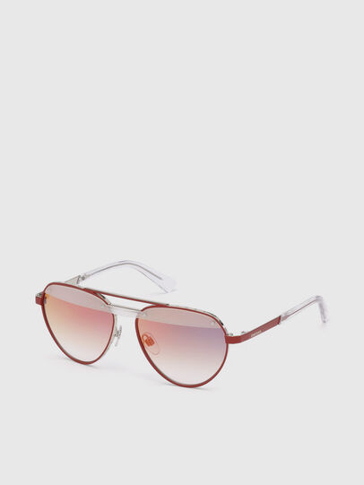 Diesel - DL0261, Red - Sunglasses - Image 2