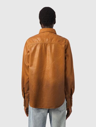 Diesel - DE-EVE-SP, Brown - Denim Shirts - Image 2