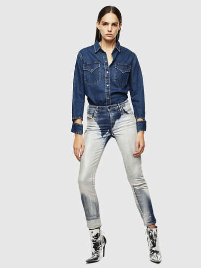 Diesel - DE-COLLY, Medium blue - Denim Shirts - Image 6
