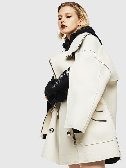 Diesel - W-UDAMYS, White - Winter Jackets - Image 3