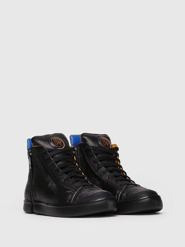 Diesel - S-NENTISH, Black/Blue - Sneakers - Image 3