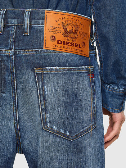 Diesel - D-Vider 009NJ, Medium blue - Jeans - Image 4