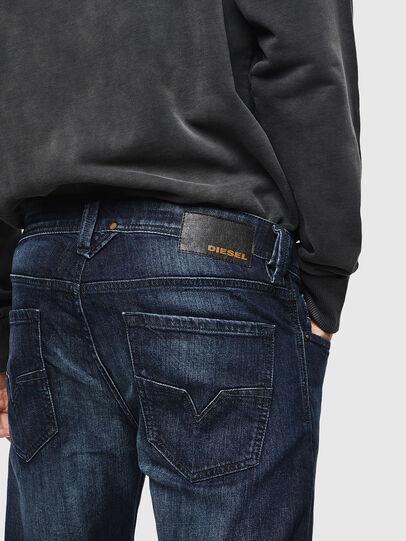 Diesel - Larkee 0095W, Dark Blue - Jeans - Image 5