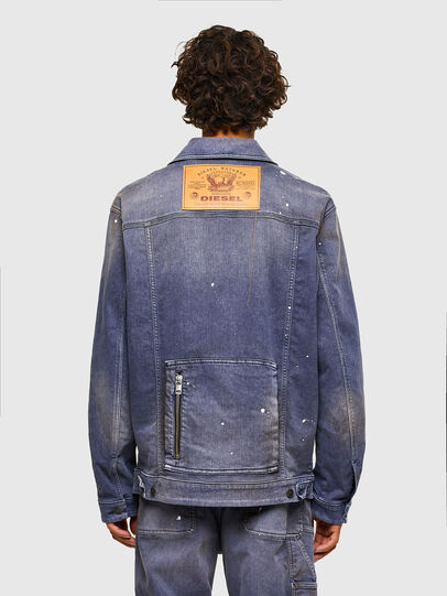 Diesel - D-ANTONY-SP, Medium blue - Denim Jackets - Image 2