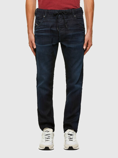 Diesel - Krooley JoggJeans 069QF, Dark Blue - Jeans - Image 1