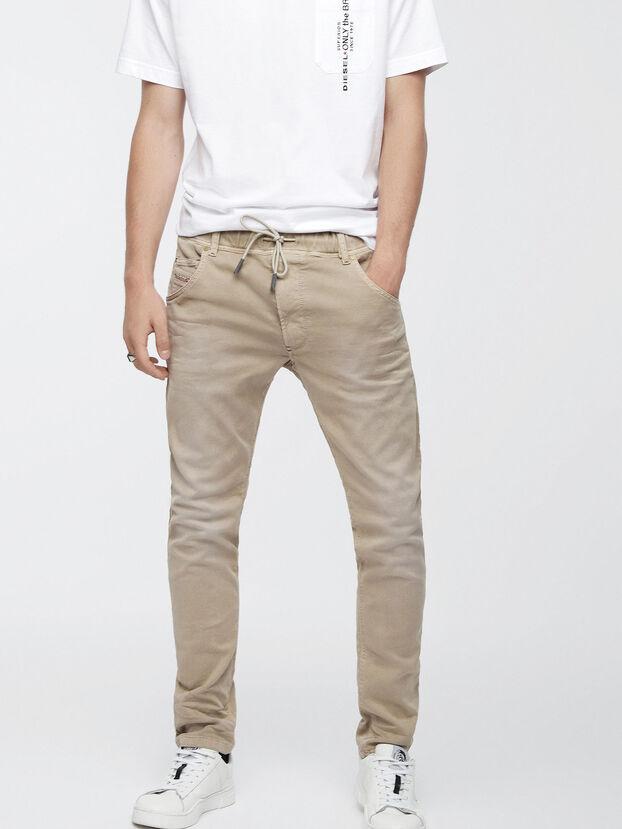 Krooley JoggJeans 0670M, Beige - Jeans