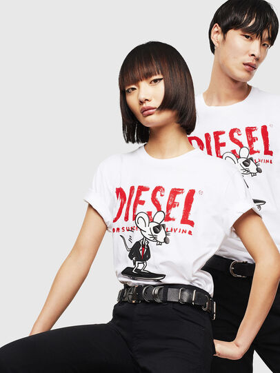 Diesel - CL-T-DIEGO-1,  - T-Shirts - Image 5