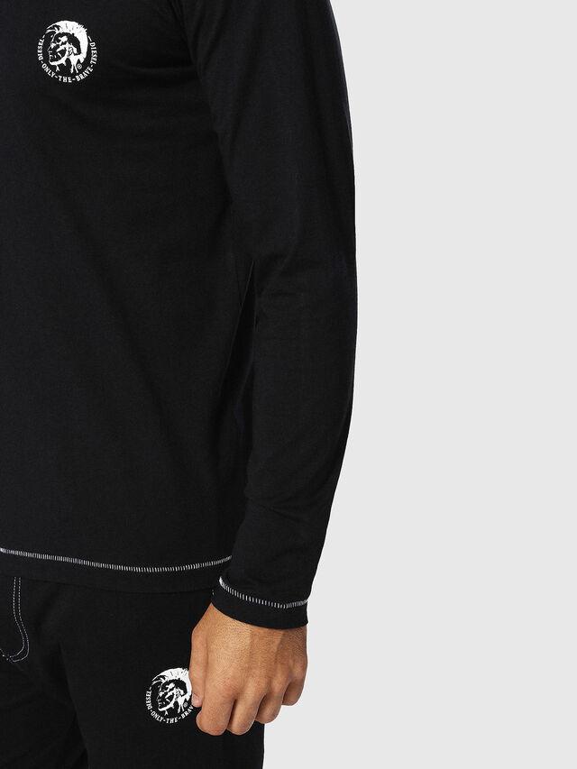 Diesel - UMLT-JUSTIN, Black - T-Shirts - Image 3