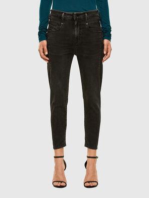Fayza JoggJeans 009HM, Black/Dark grey - Jeans