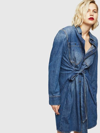 Diesel - DE-BLEU, Medium blue - Dresses - Image 1