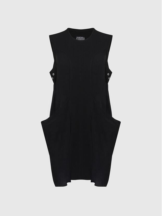 D-EVEN-A, Black - Dresses