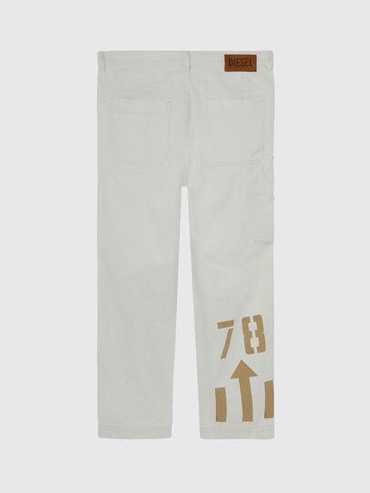 Diesel - D-Franky 009BZ, White - Jeans - Image 2