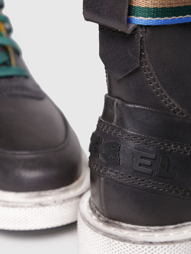 Diesel - H-CAGE HIGH ST, Opaque Black - Boots - Image 4