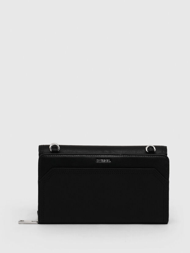 DUPLET LCLT, Black - Zip-Round Wallets