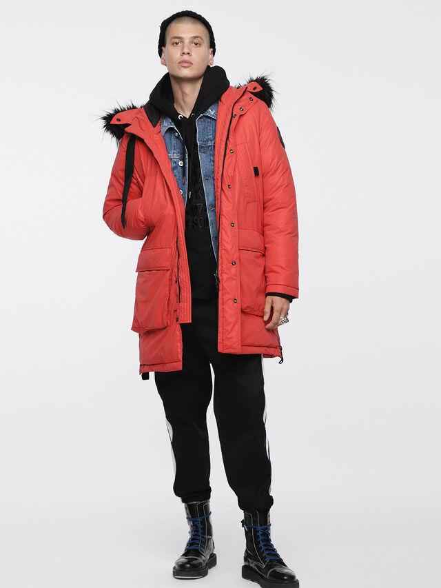 Diesel - W-BULLIONZ, Coral Rose - Winter Jackets - Image 1