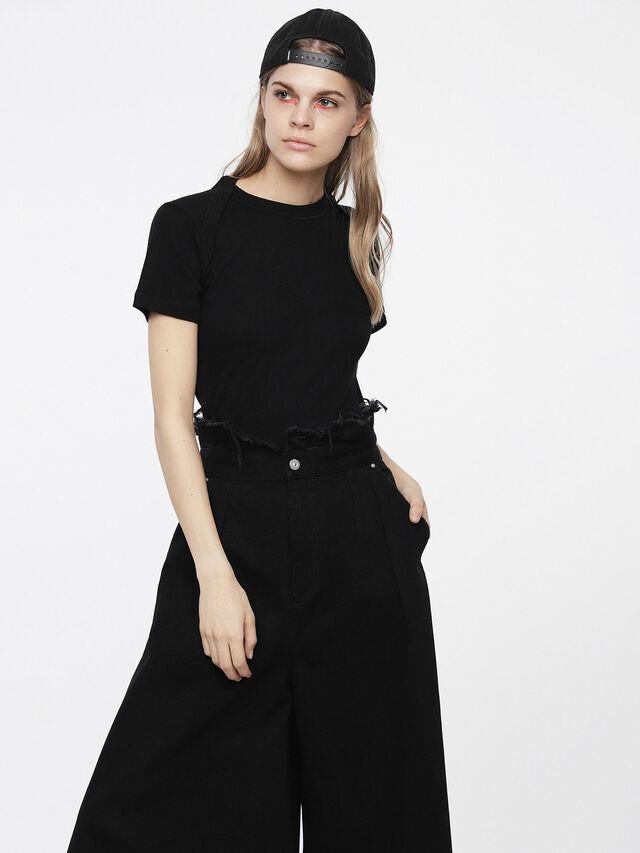 Diesel - T-SALI-A, Black - T-Shirts - Image 1
