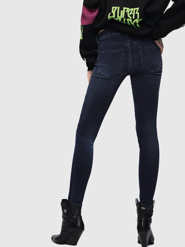 Diesel - Slandy 084UT, Dark Blue - Jeans - Image 2