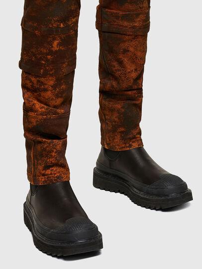Diesel - TYPE-2021, Black/Orange - Jeans - Image 4