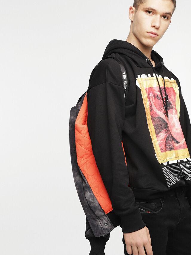Diesel - W-NOVELS, Black Melange - Jackets - Image 5