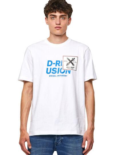 Diesel - T-JUST-B62, White - T-Shirts - Image 1