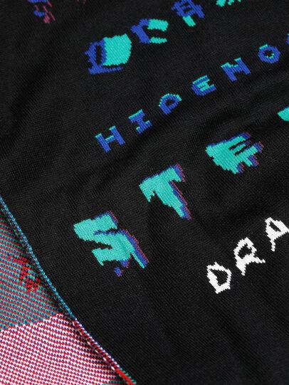 Diesel - K-DRAMA, Black - Scarf - Image 3