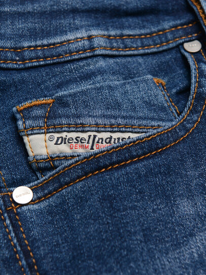 Diesel - SLEENKER-J-N, Medium blue - Jeans - Image 3