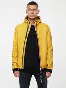 L-TECH, Yellow Ocher - Leather jackets