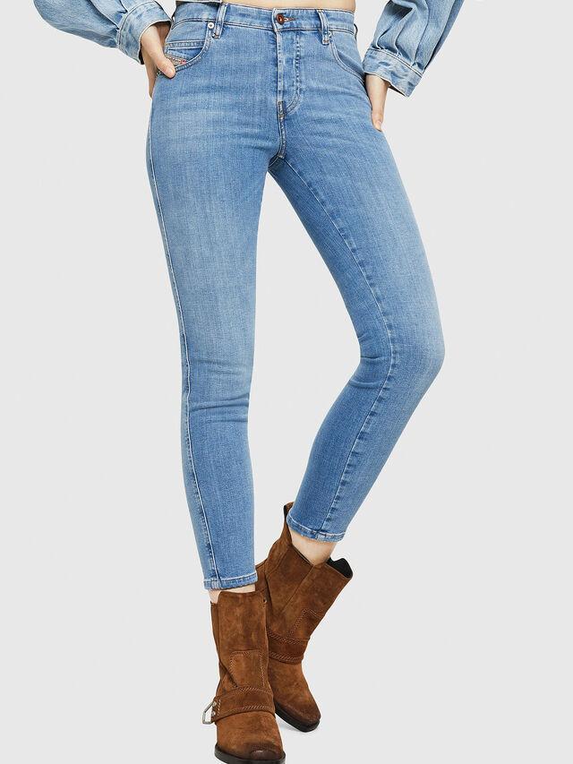 Diesel - Babhila 086AK, Light Blue - Jeans - Image 1