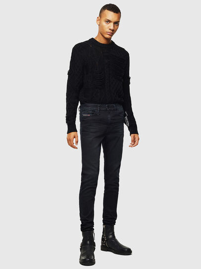 Diesel - D-Reeft JoggJeans 069KJ, Black/Dark grey - Jeans - Image 5