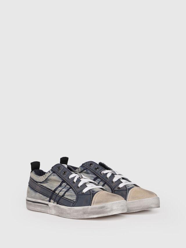 Diesel - D-VELOWS LOW LACE, Blue - Sneakers - Image 3