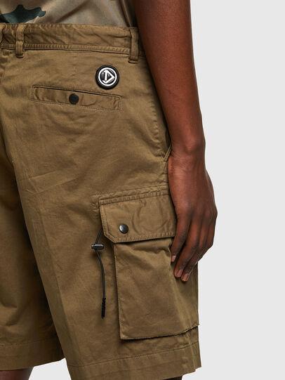 Diesel - P-APE, Military Green - Shorts - Image 4