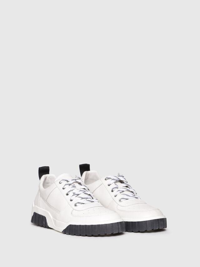 Diesel - S-RUA LC, White - Sneakers - Image 2