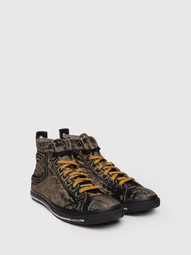 Diesel - EXPOSURE STRIPE, Yellow - Sneakers - Image 3