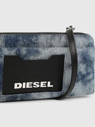 Diesel - ALLIUM, Blue Jeans - Zip-Round Wallets - Image 7