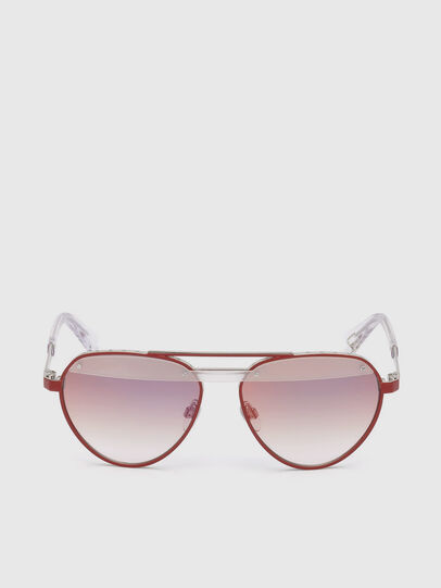 Diesel - DL0261, Red - Sunglasses - Image 1
