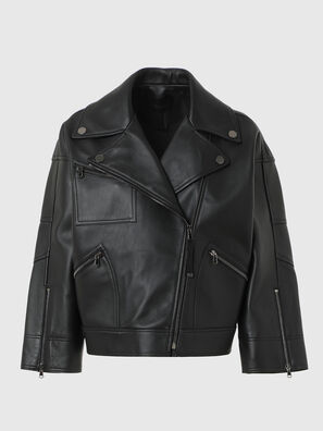 L-HAZEL, Black - Leather jackets