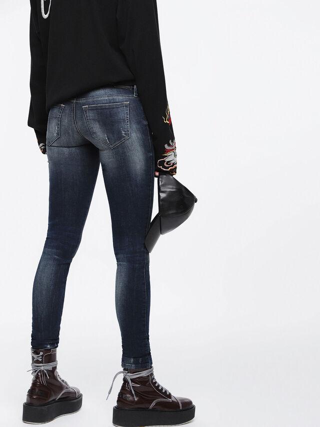 Diesel - Skinzee Low 0684D, Dark Blue - Jeans - Image 2