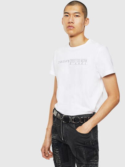 Diesel - T-DIEGO-SLITS-J6,  - T-Shirts - Image 4