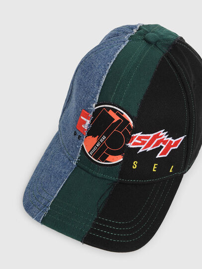 Diesel - DOSTER, Black/Blue - Caps - Image 3