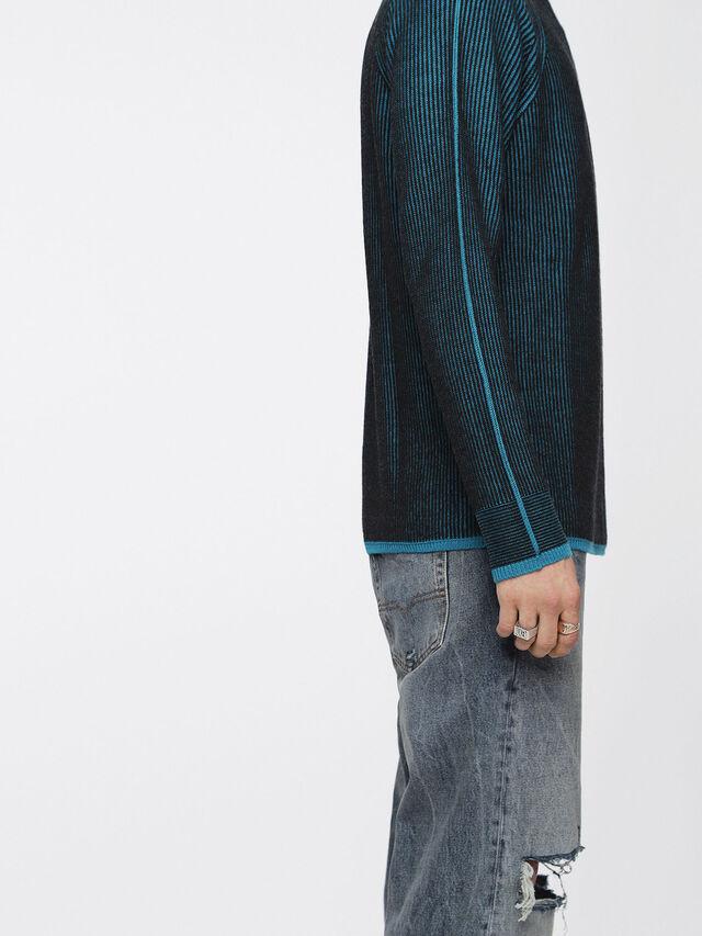 Diesel - K-BLEND, Blue/Black - Knitwear - Image 3