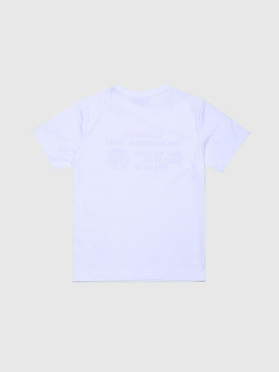 Diesel - TDIEGOXBJ, White - T-shirts and Tops - Image 2