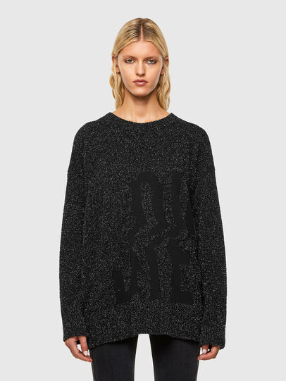 Diesel - M-AGATE, Black - Knitwear - Image 1