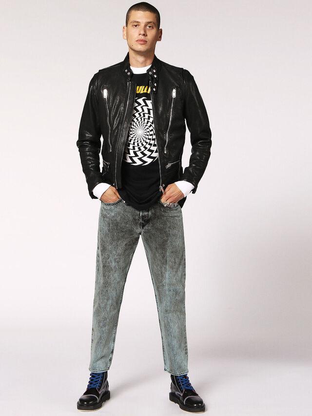 Diesel - L-HARDSTYLE, Black - Leather jackets - Image 6
