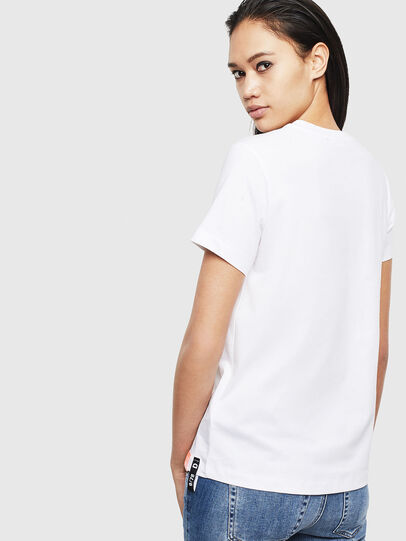 Diesel - T-SILY-S8, White - T-Shirts - Image 2