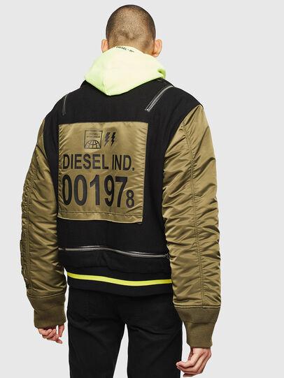 Diesel - W-SHARYN, Black/Green - Winter Jackets - Image 2