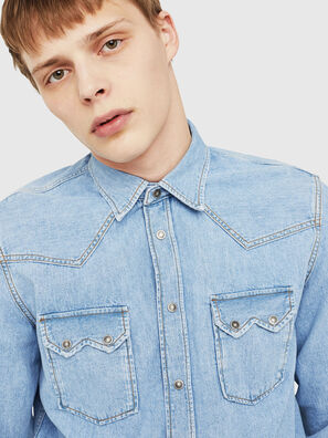D-LEO, Blue Jeans - Denim Shirts