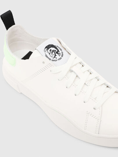 Diesel - S-CLEVER LS W, White/Green - Sneakers - Image 4