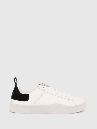 Diesel - S-CLEVER LOW LACE W, White/Black - Sneakers - Image 1