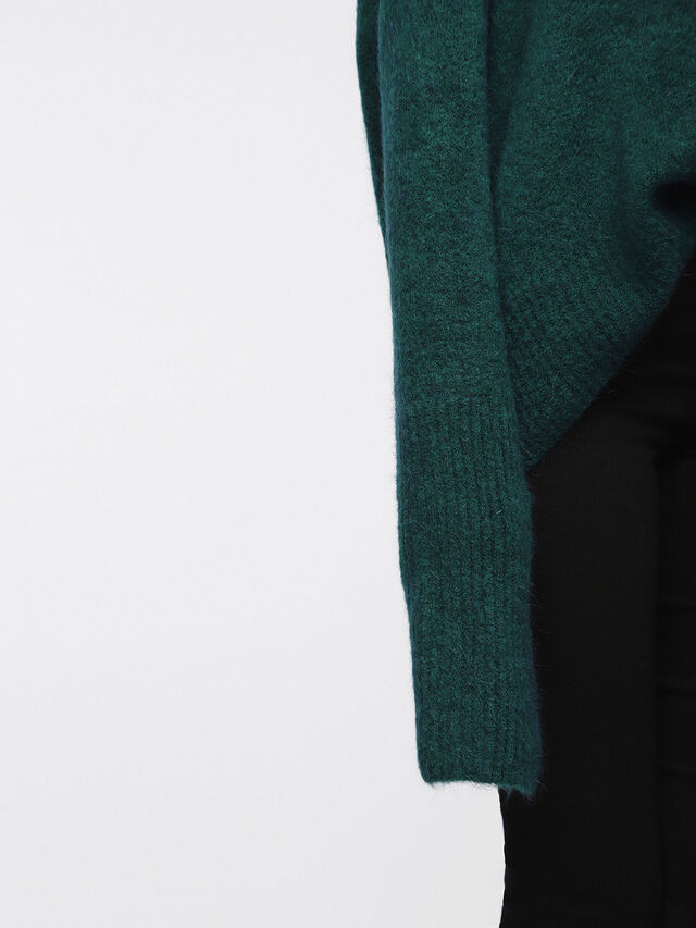 Diesel - M-ALPY, Bottle Green - Knitwear - Image 3